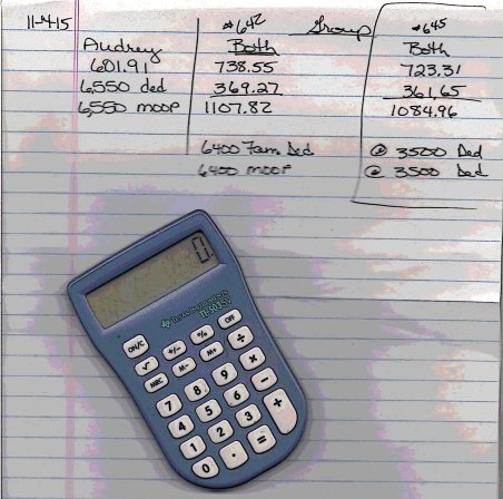 Insurance options and calculator - Copy