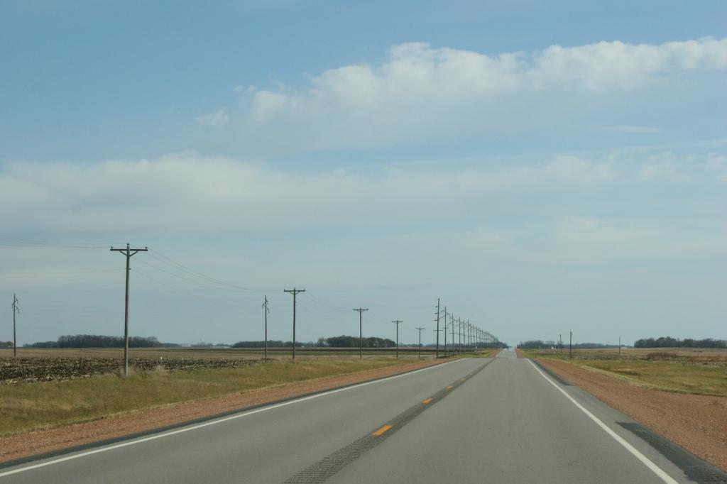 Minnesota State Highway 68 near Morgan.