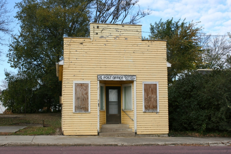 The former post office in Seaforth. Like so many small town post offices, the one in Seaforth was closed.