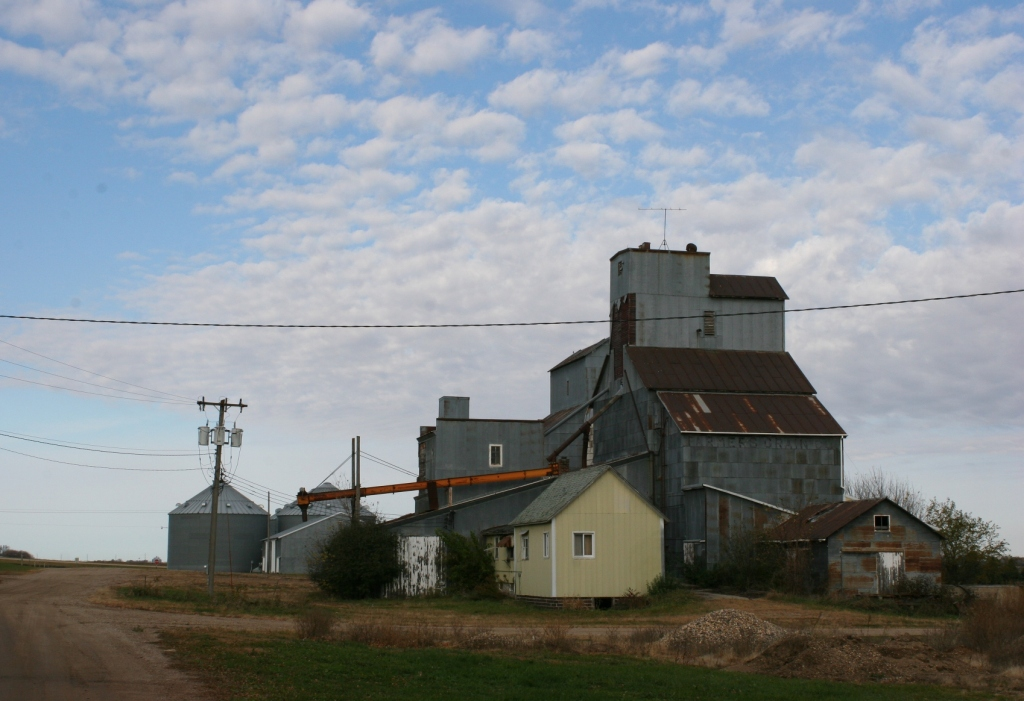 On the north edge of Seaforth, even the grain elevator is closed.