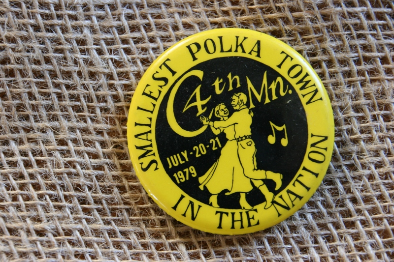 One of the many buttons my mom saved from Seaforth Polka Days.