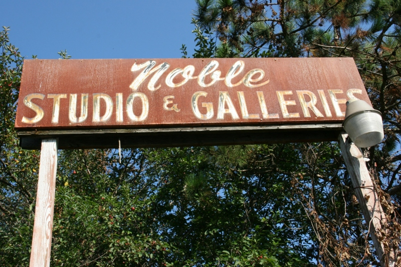 Carl and Marie Noble opened Noble Studio & Gallery here in 1955.