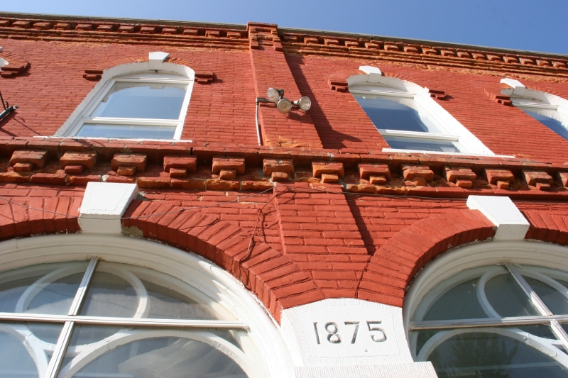 The building was constructed in 1875 and opened as Weaver Mercantile.