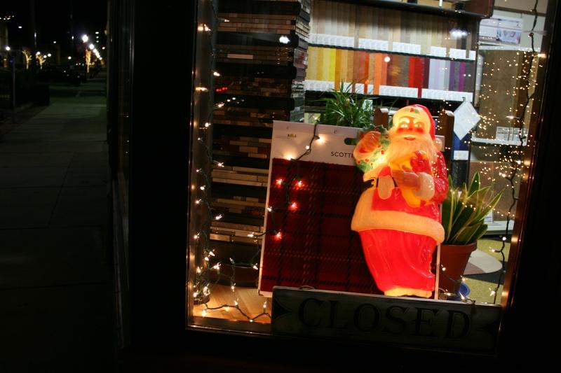 Santa at Vohs Floors.