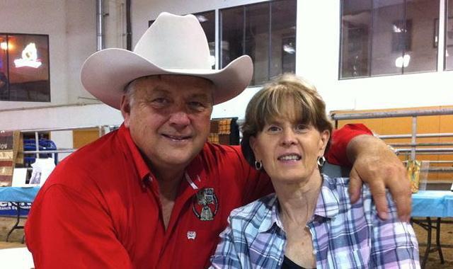 Kevin and Debbie Estrem in 2013. Photo courtesy of Debbie Estrem.