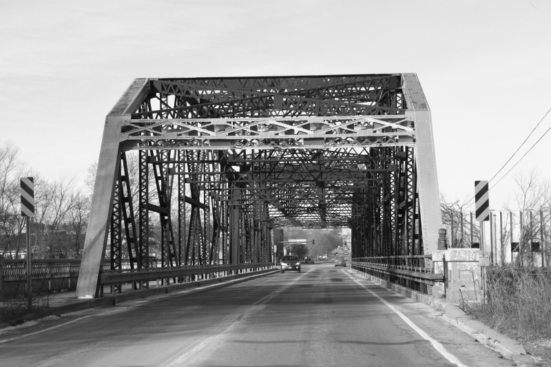 Travel, Minnesota Highway 99 bridge over MN River in St. Peter