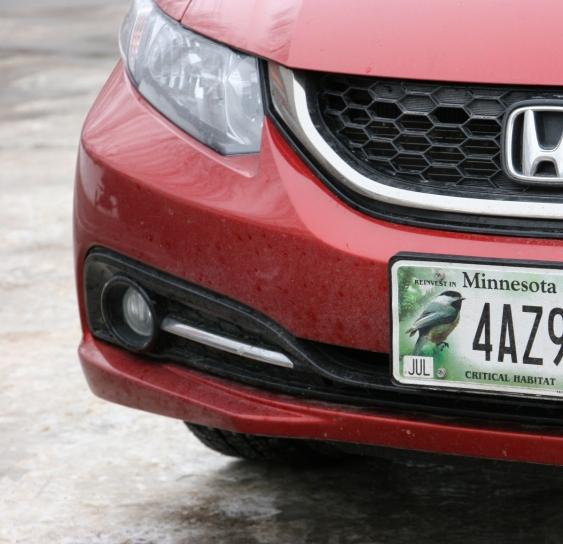 Nature Center, 42 license plate