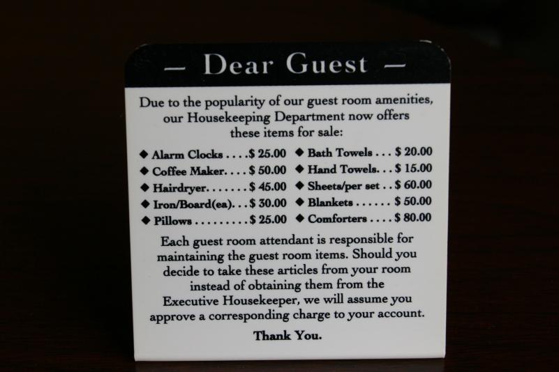 Sign in Winona hotel, 392