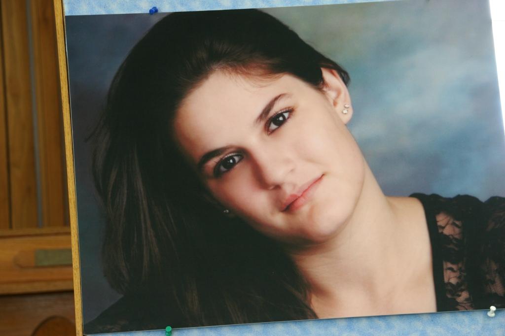 Becky Kasper's portrait.