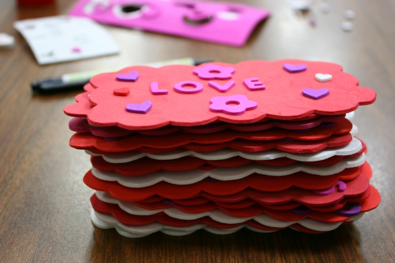 SS Valentine's Day, 48 stack of valentines