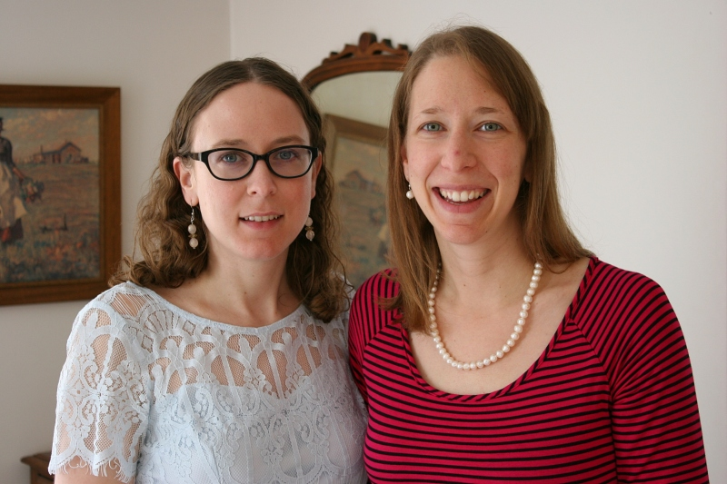 I was delighted to have my two beautiful daughters in my home, together, for several hours.
