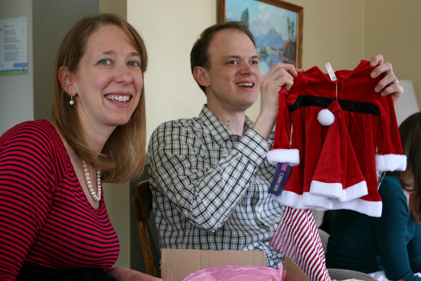 Baby shower ideas 66 Santa dress