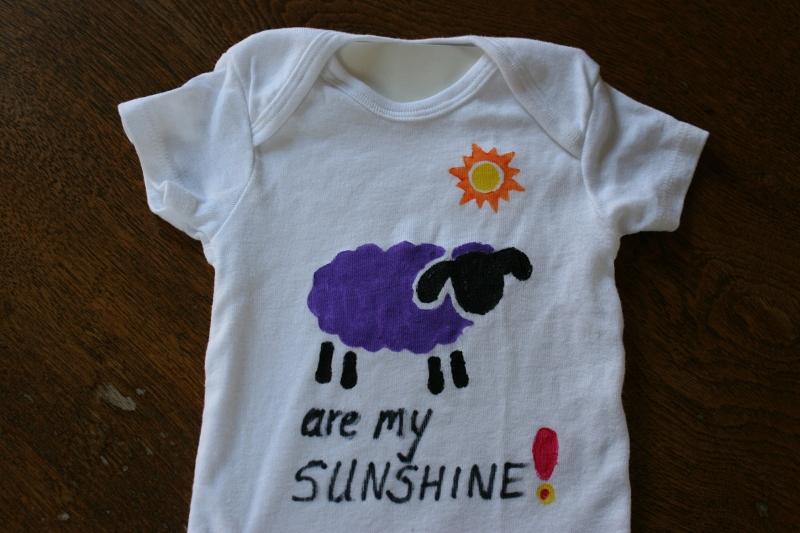 My creation: Ewe (you) are my sunshine.