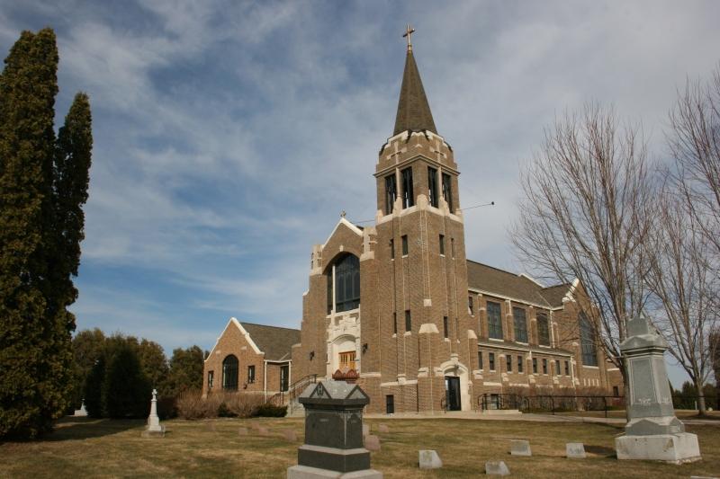 Holden Lutheran Church, rural Kenyon, Minnesota.