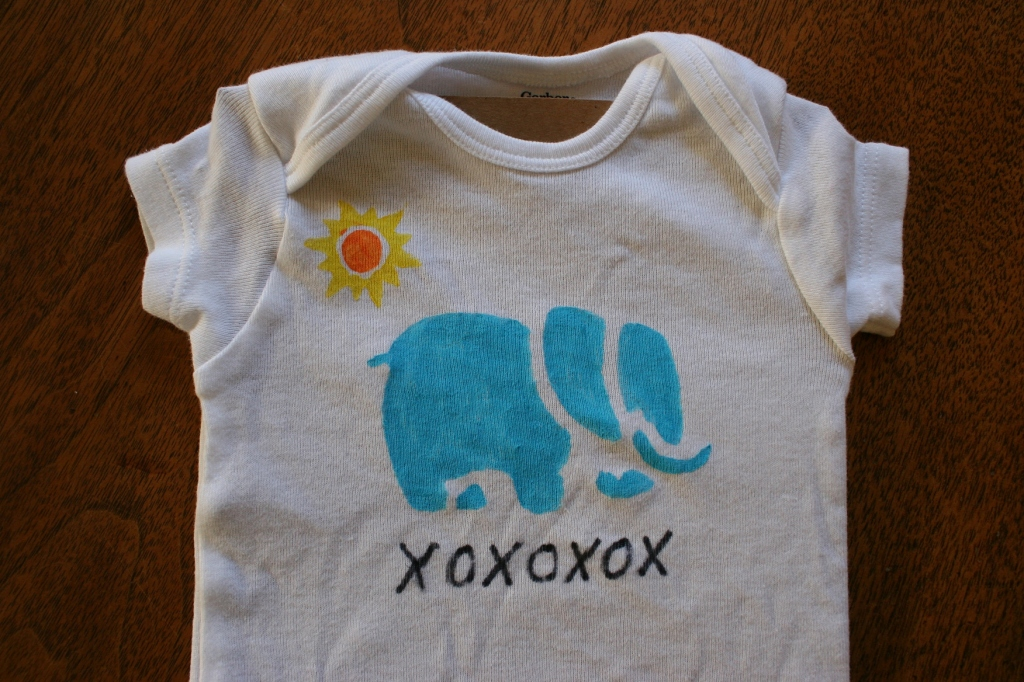 I crafted this design for Baby Girl from her Uncle Caleb, a student at Tufts University.