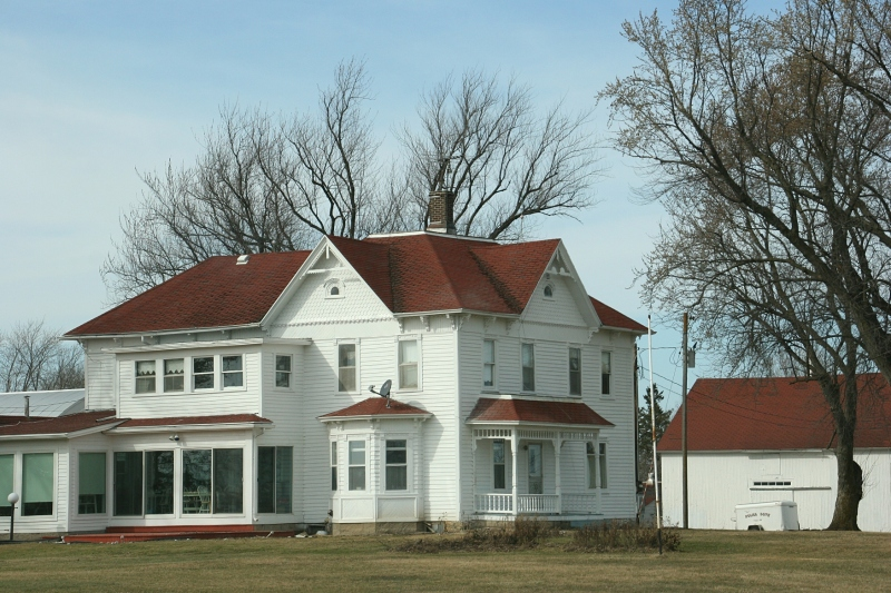 Rural Minnesota, 108 sprawling farmhouse