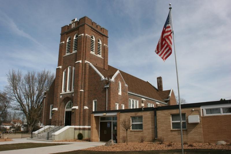 Trinity Lutheran Church, 301 Second Avenue, Wanamingo, Minnesota.
