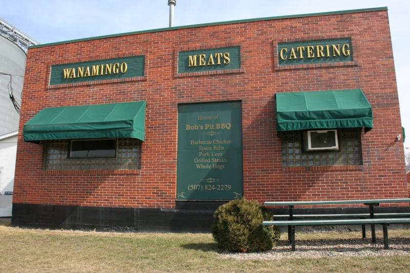 A few doors away sits Wanamingo Meats.
