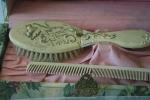 Bridal exhibit, 128 comb &brush