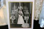 Bridal exhibit, 79 black & whiteportrait