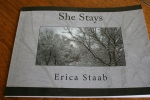 Erica's book She Stays 007 – bookcover