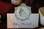 Weddings, 53 name placecard