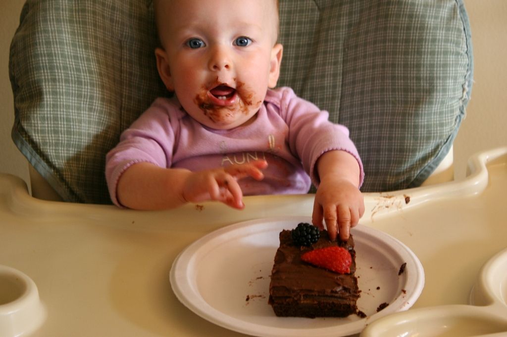 Birthday, 15 eating cake