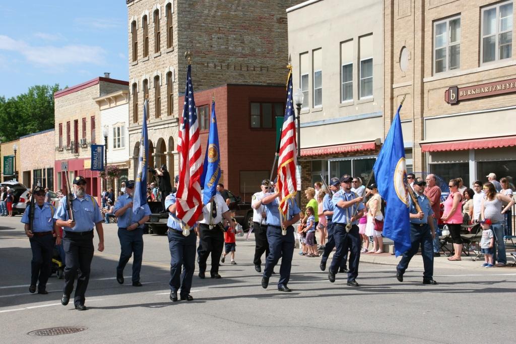 Parade, 11 Color Guard