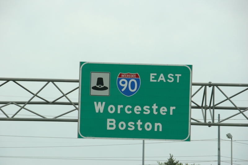 We were headed for Somerville, near Boston.