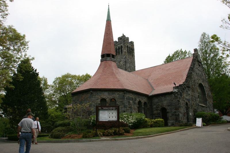 Goddard Chapel, built in 1883.