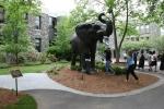 Campus, Tufts 198 Jumbo the elephantsculpture