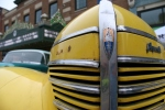 Car Cruise Night, 44 yellowPlymouth