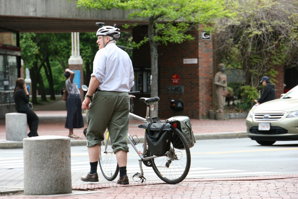 Most cyclists take biking safety seriously. And they should given the heavy vehicle traffic.