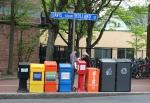 Davis Square, 360 newspaperboxes