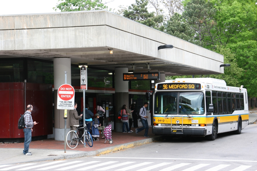 Mass transit is a necessity in this densely populated metro area.