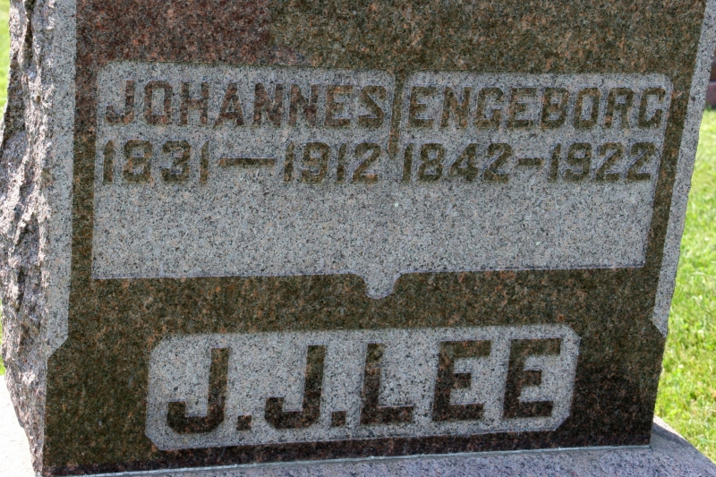 Love the immigrant names of Johannes and Engeborg. So poetic.