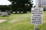 Emmanuel Cemetery, Aspelund 151sign