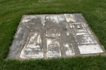 Emmanuel Cemetery, Aspelund 160 tombstones inground