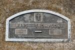 Emmanuel Cemetery, Aspelund 175 Hansmarker