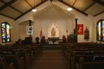 Ghost town, Aspelund 140 Emmanuel Lutheraninterior