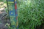 McAdam garden, 71 love laughpost