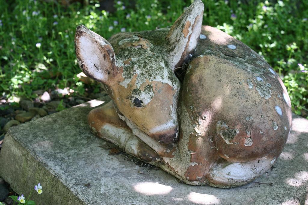 My favorite sculpture in the McAdam yard.