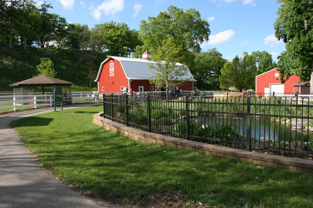 Just a small section of the Farm, which includes two barns.
