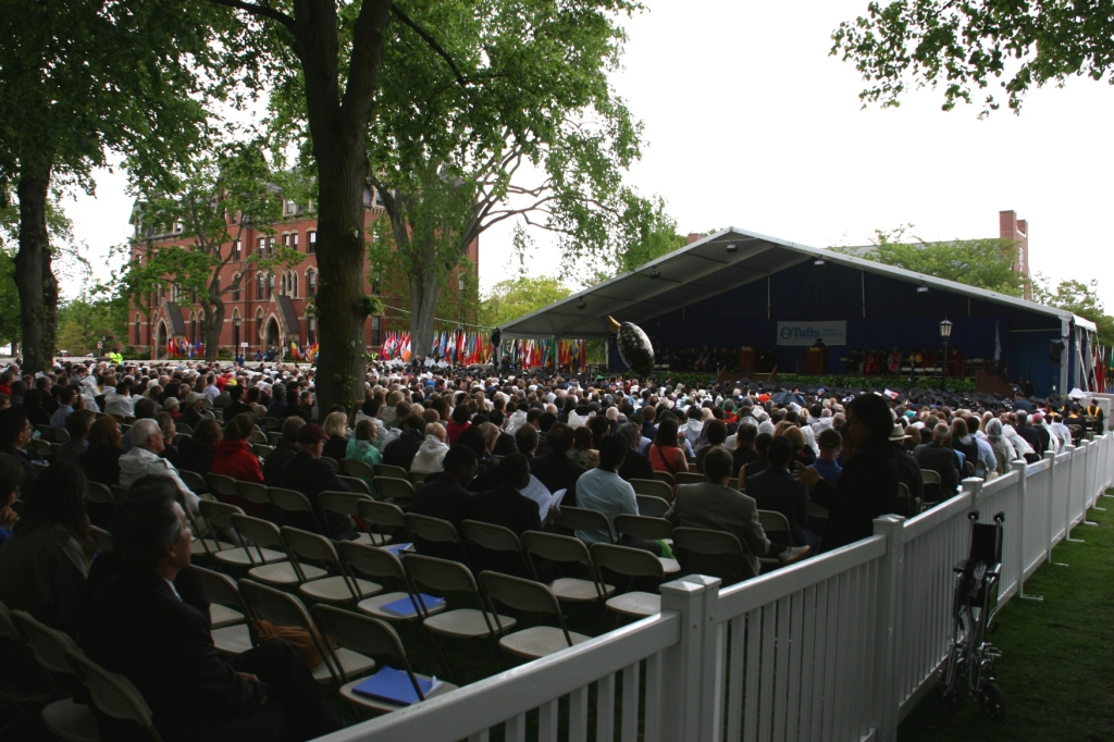 The second phase of graduation moved us nearer the stage and to the ceremony for The School of Engineering.
