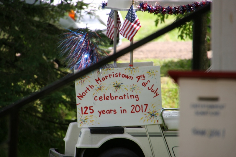 Next year will be a big year as North Morristown marks its 125th Fourth of July celebration.