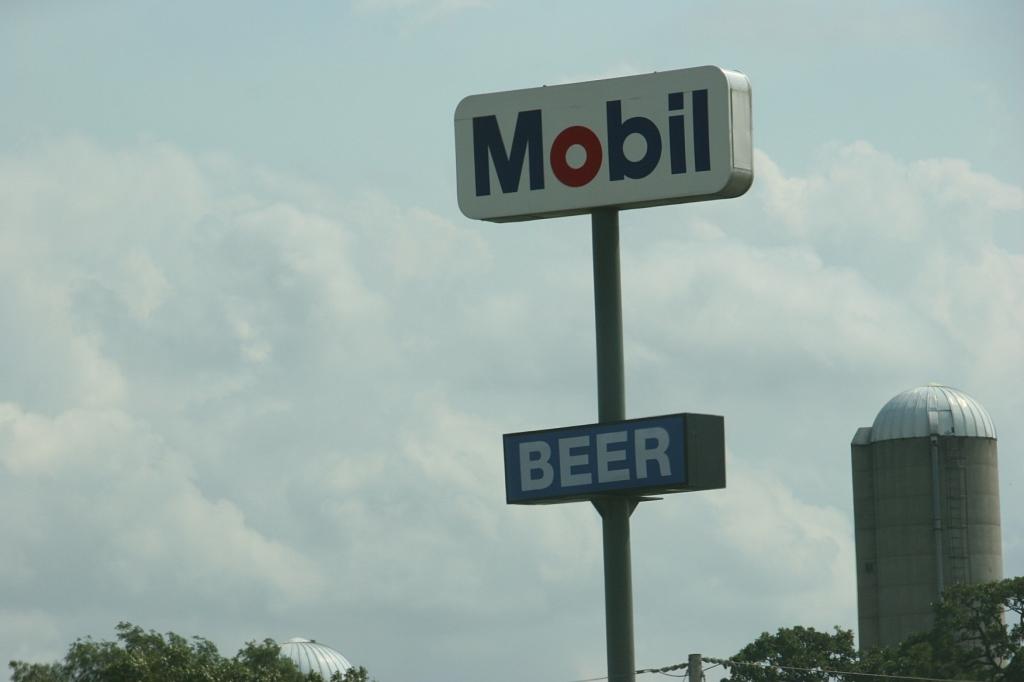 I photographed this signage along Interstate 41 between Appleton and Oshkosh.