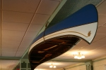 Potawatomi Inn, 11 canoe in dininghall