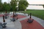 Potawatomi Inn, 47 sun deck overlooking LakeJames