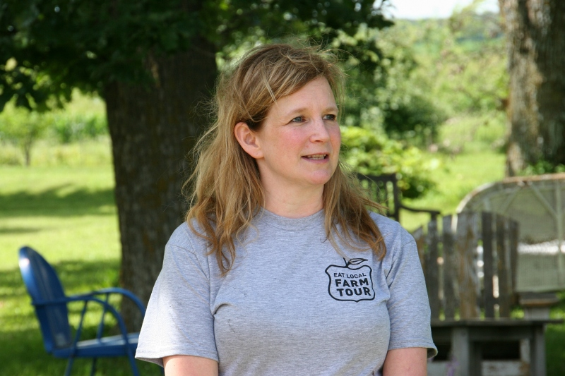 Farm co-owner and cheesemaker Jodi Ohlsen Read talks about Shepherd's Way Farms.