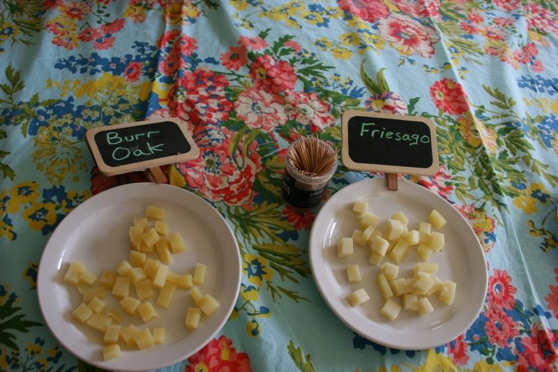 Shepherd's Way Farms, 143 Burr Oak cheese